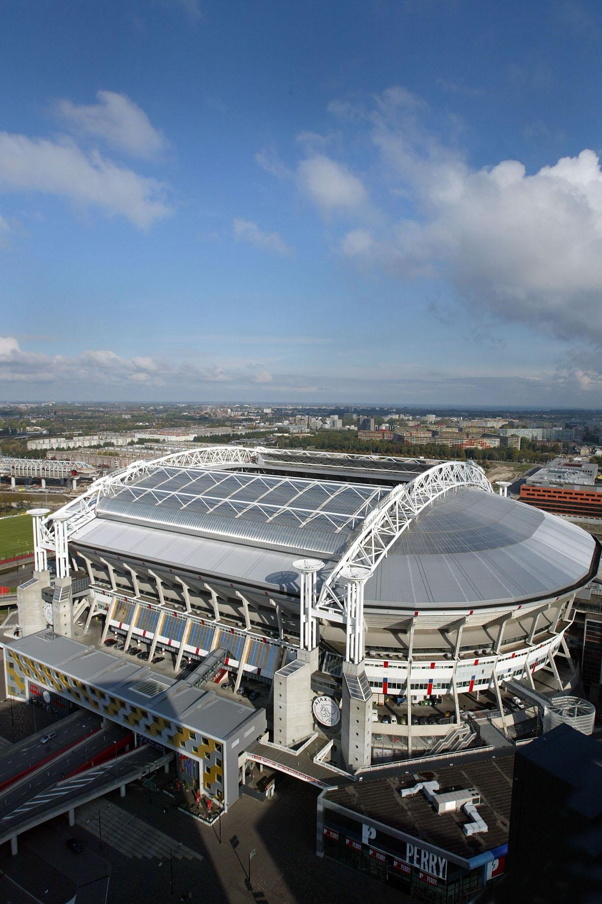Amsterdam Arena Stadium Escalator Enclosures Beat Summer