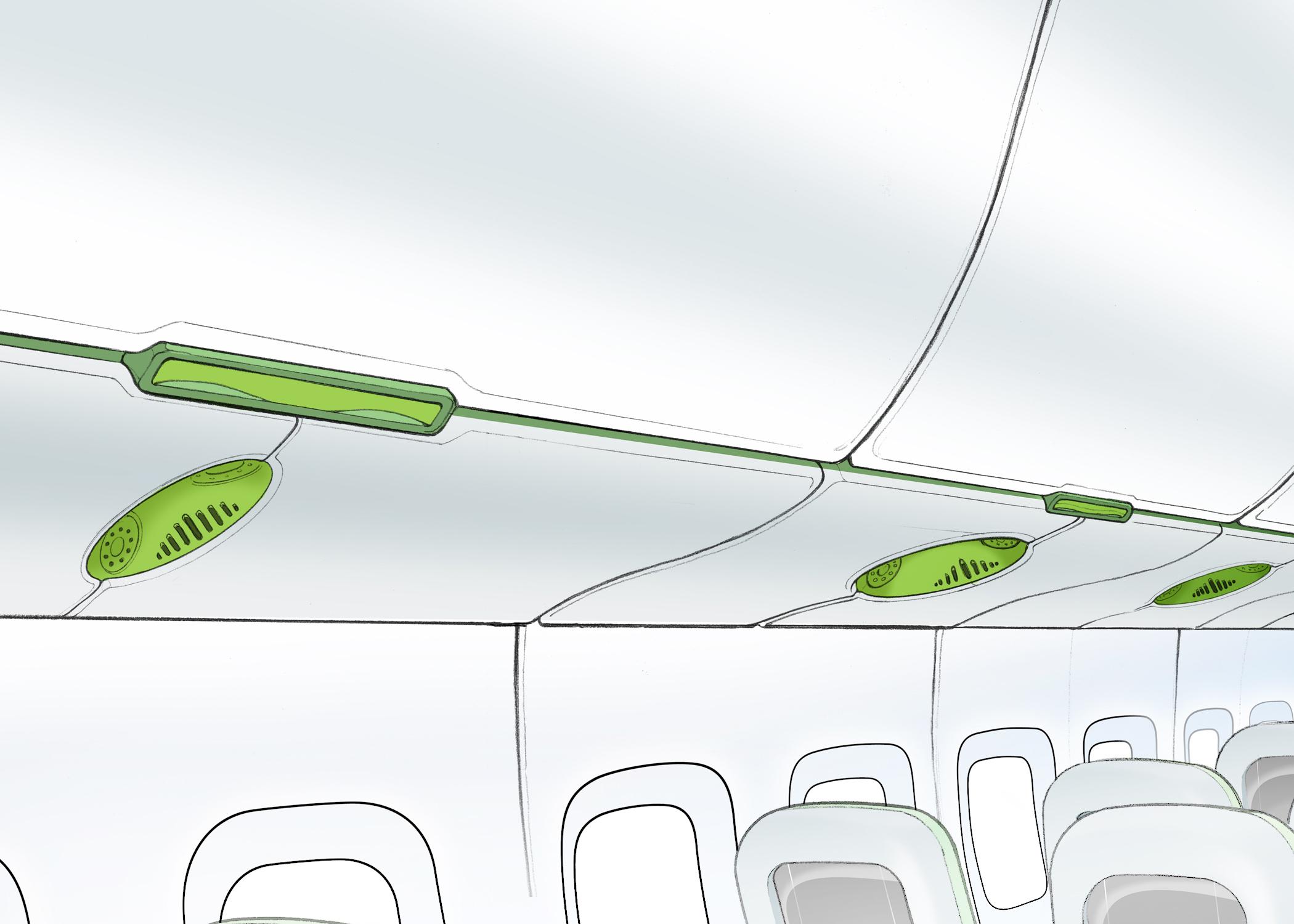 GE Plastics - Aircraft Interiors Press Material