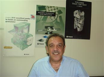 Rapid Granulator AB has established a representative office for Middle East and North Africa (MENA). Commencing operation on October 1, 2007, the office of Rapid Middle East is situated in Beirut, Lebanon, and is headed by Mr. Elias Gergi.