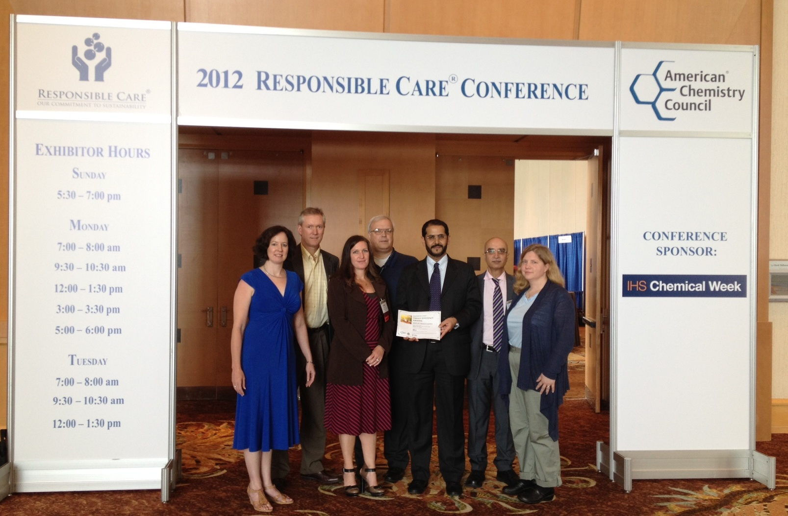SABIC wins Seven Coveted ACC Responsible Care® Energy
