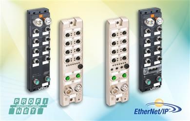 Belden Launches New Lumberg Automation I/O Modules for PROFINET and EtherNet/IP. 