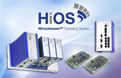 Belden Unveils HiOS – A New Operating System Generation for Its Hirschmann Brand of Switches. 