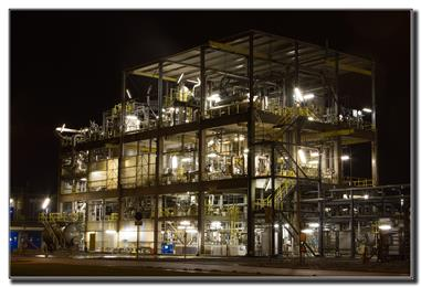 Polyscope plant in Geleen. (Photo Polyscope, PSPR007)