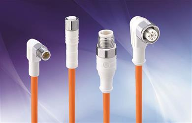 Belden's new Cord Sets designed to perform in extreme Wash-Down environments.<br>(Photo: Belden, PR353)