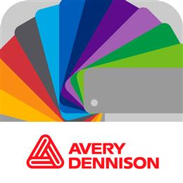Avery Dennison launched new mobile Colour Swatch app at FESPA. (Photo: Avery Dennison, PR298)