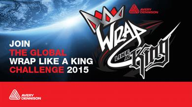 Avery Dennison® 2015 'Wrap Like a King' challenge opens.