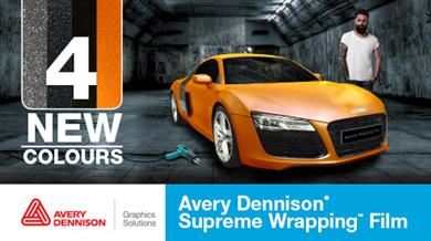 Avery Dennison extends its range of Supreme Wrapping™ Films for Automotive applications.