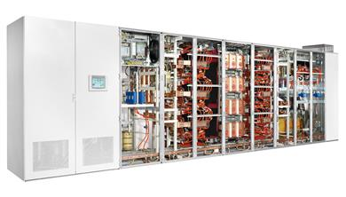 MV7000 drives provided by GE's Power Conversion business will help power the new Yanbu 3 power and desalination plant in Saudi Arabia. (Photos: GE Power Conversion: GEPCPR225)