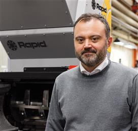 Heading the two companies is Dr. Toni Reftman, who holds a Ph.D. in recycling, has been appointed to the post of CEO and Director of both companies. <br> (Photo: Rapid Granulator, RAPPR039)