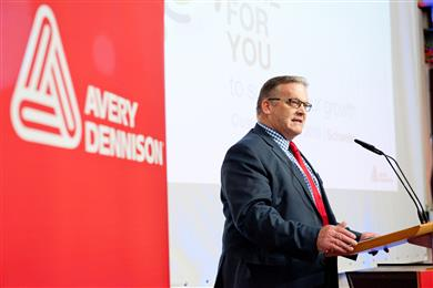Avery Dennison opens new coater at its Schwelm plant. (Photos: Avery Dennison, PR330)