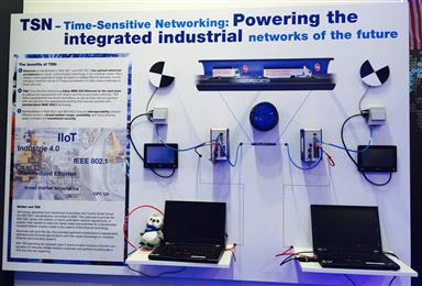 Belden enables standardized real-time communication for industrial networks of the future.  (Photos: Belden, PR421)