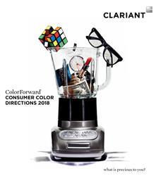 科莱恩<i>ColorForward</i>® 2018色彩趋势指南反映消费者低沉情绪。<br> (图片提供:科莱恩)