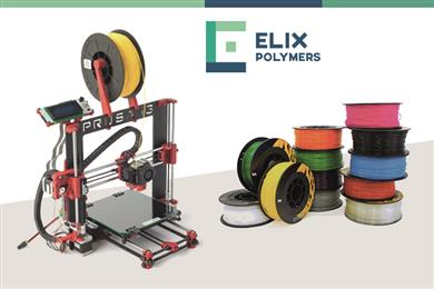 ELIX Polymers launches ABS 3D printing R&D project in collaboration with AIMPLAS. 