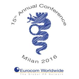 The 15th Eurocom Worldwide annual member conference takes place in Milan, Italy, on 11th March 2016.