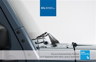 Guardian Automotive is exhibiting in Hall 6 Level 2 Stand A50 at Automechanika (13-17 September 2016) in Frankfurt, Germany.