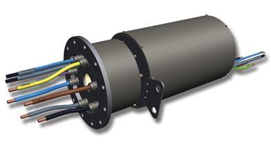 Moog introduces EPA3 pitch control slip ring. <br>(Photo Moog, MGPR1604)