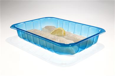 Food trays based on NX™ UltraClear PP are considerably lighter than PET trays and fully recyclable.