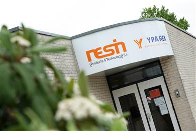 RESIN B.V. and Yparex B.V. are both headquartered in Enschede. (Photo Yparex, YPAPR003)