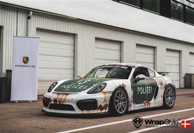 Wrap Like a King 2017 Continent Wrap King Europe: Polizei Rusty Design by Wrapstyle Denmark.