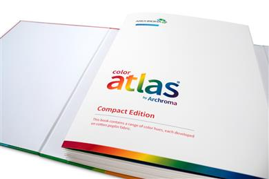 Archroma adds to Color Atlas with new portable 2-volume set. (Photos: Archroma)