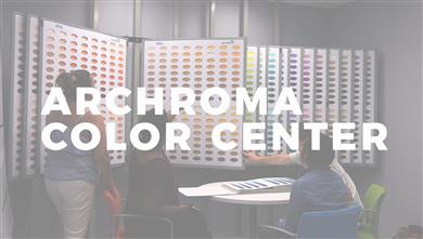 The Archroma Color Center at the Fashion Institute of Technology (FIT), featuring the Color Atlas by Archroma®.<br> (Photo: Archroma)