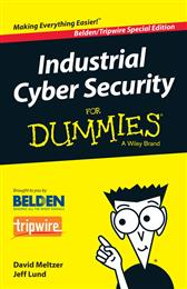 Belden introduces Industrial Cyber Security for Dummies. 