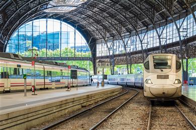 Renfe high-speed train TV service runs on Belden switches. 