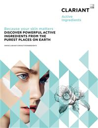 Clariant's dedicated Active Ingredients Unit for Personal Care. <br>(Photo: Clariant)