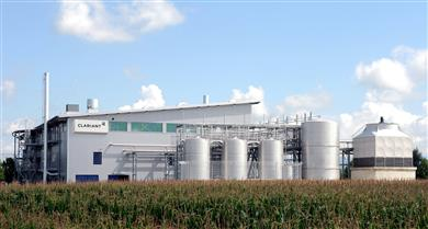 Extensive tests with Enviral's feedstock were conducted at Clariant's pre-commercial plant in Straubing, Germany.<br> (Photo: Clariant)