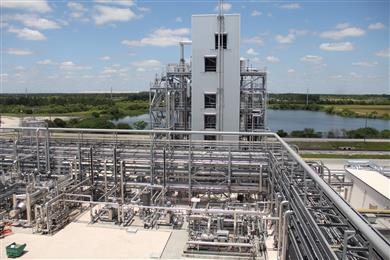 WDP is an advanced technology for producing cleaner energy and chemicals from coal and other high-sulfur feedstocks by enabling sulfur-containing gas streams to be cleaned at elevated temperatures. <br>(Photo: RTI)