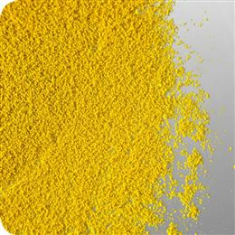Agrocer Yellow 001 Gran. is one of the first new seed colorants available in pre-dispersed granulated pigment form from Clariant's dedicated range of colorants for the agricultural industry. <br>(Photo: Clariant)