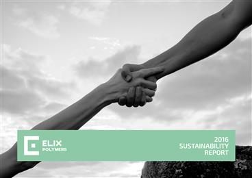ELIX Polymers publishes 2016 Sustainability Report. (Photo: ELIX Polymers, PR030)