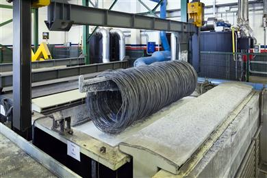The simplicity of the process also means that it can easily be integrated in in-line as well as in batch production lines. 