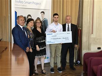 E' Matteo Cosentino il vincitore della decima edizione dello Smart Project Omron.