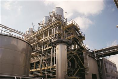 Perstorp's formic acid plant in Sweden. Perstorp is one of only 3 European formic acid producers.