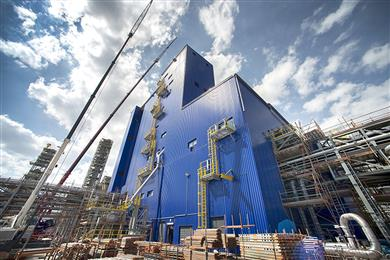 SABIC's new polypropylene extrusion line in Geleen, The Netherlands, is now on-stream.