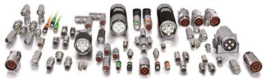 TE Connectivity Intercontec connectors provide customized solutions across multiple motor platforms. <br>(Source: TE Connectivity, PR161)
