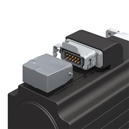 TE Connectivity's heavy duty connectors offer servo and spindle motors reliability and lower installation times.<br>(Source: TE Connectivity, PR162)
