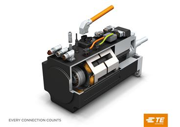TE Connectivity presented innovative connectivity solutions to boost productivity in motion and drive applications at SPS IPC Drives.<br> (Source: TE Connectivity, PR220)