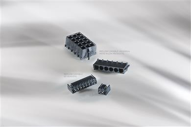 TE Connectivity unveils reflow capable connectors for HVAC equipment and appliances.<br>(Source: TE Connectivity, PR120)