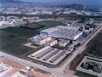 Archroma's production facility of tetrasulfonated optical brightening agents near Barcelona, Spain. (Photo: Archroma)