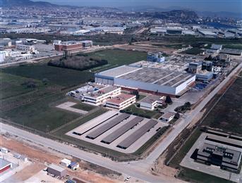Archroma's plant in El Prat de Llobregat, near Barcelona, Spain. (Photo: Archroma)