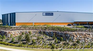 Beaulieu Australia's new state-of-the-art carpet manufacturing plant.