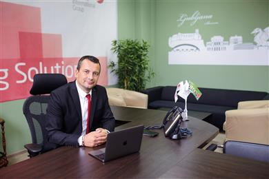 Caption: Jure Zupin, Managing Director JUTEKS Russia.