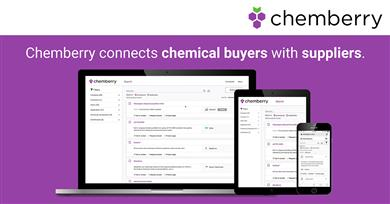 New chemical search platform Chemberry puts Personal Care ingredients at buyers' fingertips. 