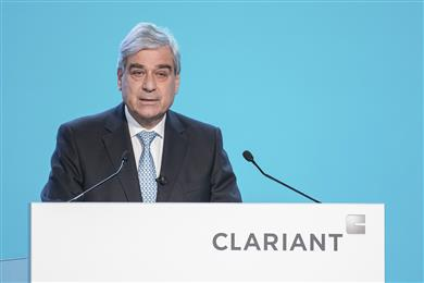 Rudolf Wehrli, Chairman of the Board of Directors, opens the 23rd Annual General Meeting of Clariant AG. 