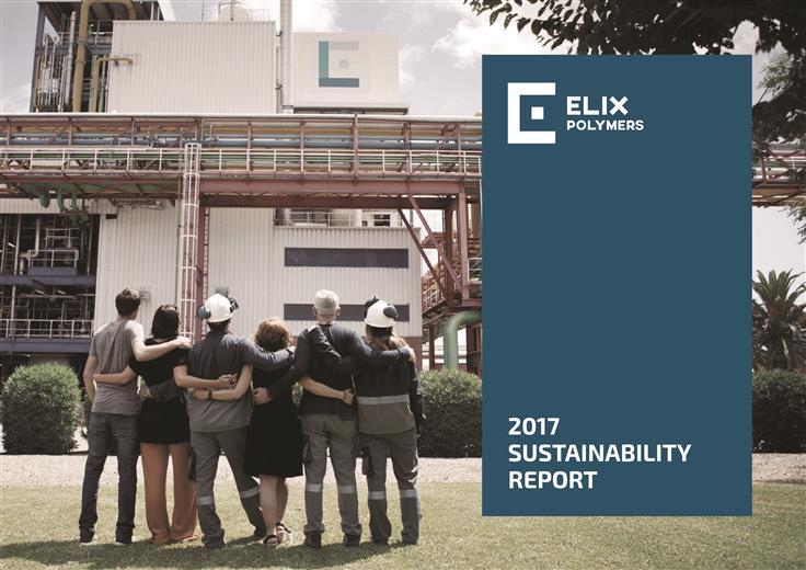 ELIX publishes its 2017 Sustainability Report.  (Photo: ELIX Polymers, PR042)