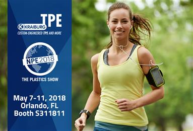 KRAIBURG TPE to Exhibit at NPE 2018. 