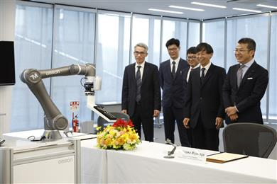 Omron Corp. and Taiwan's collaborative robot company Techman Robot Inc. form strategic alliance on collaborative robots. 
