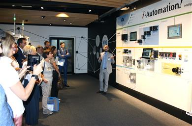 L'Omron Innovation Lab di Milano incrementa il supporto e l'assistenza locale che Omron fornisce ai propri clienti in Italia. (Foto: Omron, PR062)